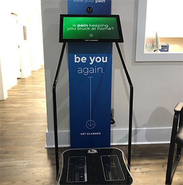 Chiropractic Shallotte NC Foot Scanner