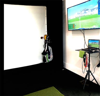 Chiropractic Leland NC Coastal Integrative Health Golf Simulation