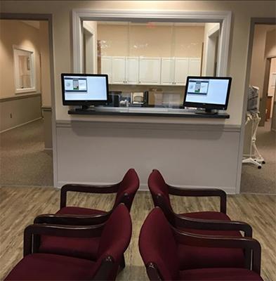 Chiropractic Leland NC Coastal Integrative Health Reception Desk