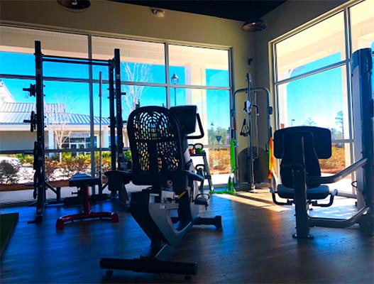 Chiropractic Leland NC Coastal Integrative Health Weight Room