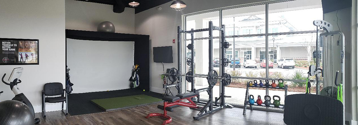 Chiropractic Leland NC Performance Review Room