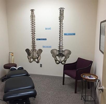 Chiropractic Shallotte NC Coastal Integrative Health Treatment Room