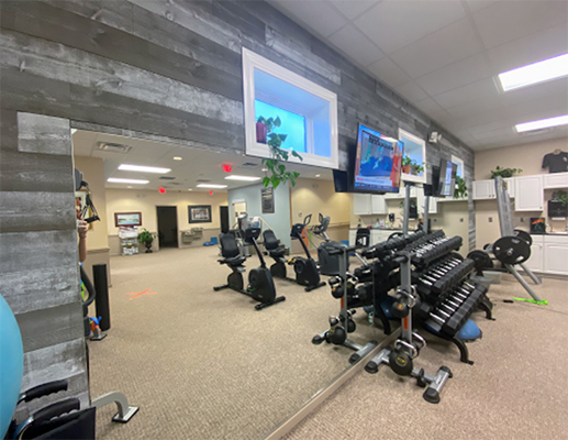 Chiropractic Shallotte NC Coastal Integrative Health Weight Room